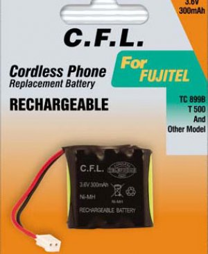 CFL 3.6V 300MAH 3MP300 PİL