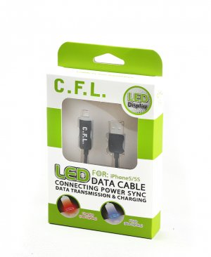 CFL 502 LED IPHONE DATA CABLE